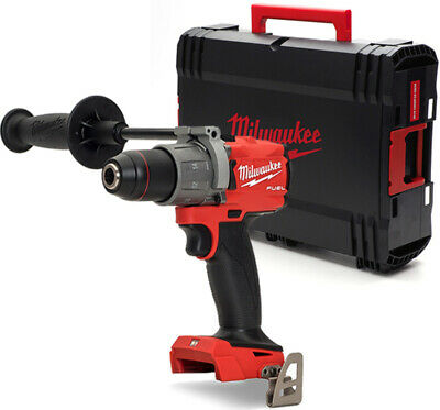 View Details Milwaukee M18FPD2-0 18V GEN3 Brushless Fuel Combi Drill With Case (Body Only) • 107.99£