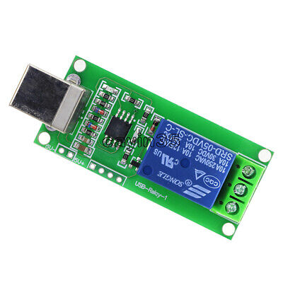 £2.63 • Buy NEW 5V USB Relay 1 Channel Programmable Computer Control For Smart Home