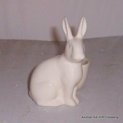 £9.99 • Buy QUAIL White Rabbit With Egg Cup