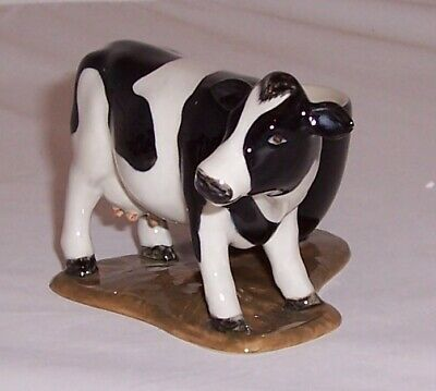 £14.99 • Buy QUAIL Fresian Cow With Egg Cup