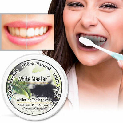 AU1.85 • Buy Teeth Whitening Powder Black Charcoal Activated Organic Pure Tooth Paste Natural