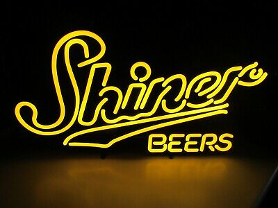 $ CDN227.89 • Buy 27  X 15  New Shiner Bock Brewing Texas LED Opti Neo Neon Beer Sign Bar Light