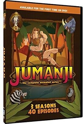 AU20.99 • Buy Jumanji: The Complete Animated Series (3 Disc) DVD NEW
