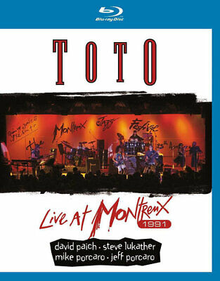 £19.82 • Buy Toto: Live At Montreux 1991 BLU-RAY NEW