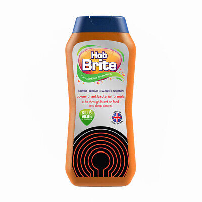 300ml HOB BRITE COOKER CLEANER - With FREE Scraper Included! • 7.95£