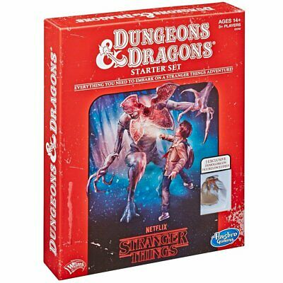 AU36.79 • Buy D&D Stranger Things Roleplaying Game Starter Set