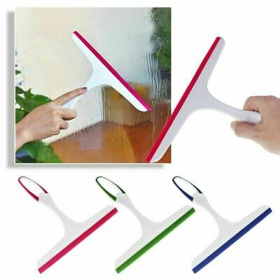 NEW Window Squeegee Glass Cleaning Wipre Rubber Blade Shower Screen Washer Wiper • 3.99£