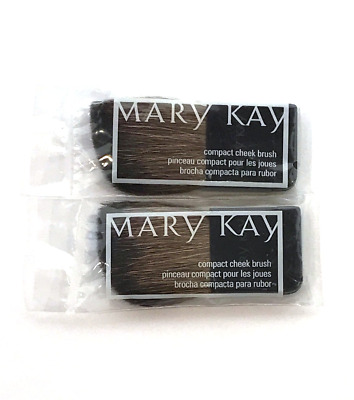 $5.80 • Buy Mary Kay Compact Cheek Blush Brush~lot Of 2~new In Package~sealed!