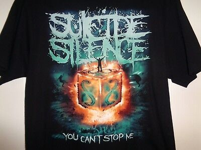 SUICIDE SILENCE  T Shirt  X-LARGE • 11.34£
