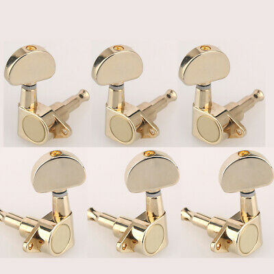 $ CDN20.24 • Buy Musiclily 3L3R Gold Sealed Tuning Pegs Machine Heads Tuners For Epiphone Guitar
