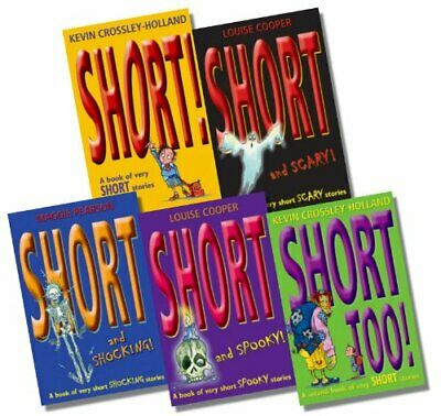 £22.50 • Buy Short Story 5 Book Set Collection By Louise Cooper Inc Short And Spooky,