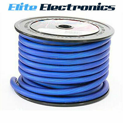 AU15.85 • Buy Aerpro Mx020b 0 Awg Gauge Maxcor Series Blue Power Cable Wire