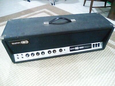$ CDN1704.30 • Buy Sunn Amplifier Tube Head 1000s Players Gig Macheen