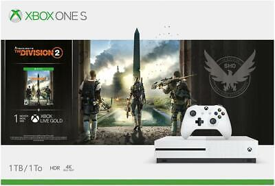 $248.99 • Buy Microsoft Xbox One S Bundle: 1 TB Console With Tom Clancy's The Division 2
