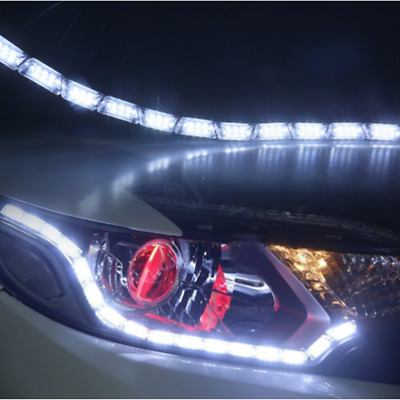 $18.99 • Buy 12LED Switchback Car Flexible LED Strip Light DRL Sequential Turn Signal Lamp