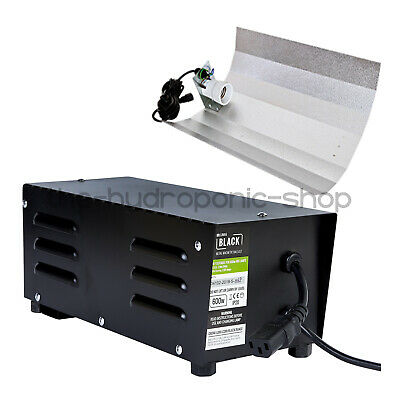 £49.95 • Buy Lumii 600W Black Alloy Metal Vented Ballast With Euro Shade