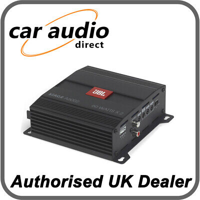 £116.99 • Buy JBL Stage A6002 – 280 Watts 2 Channel Amplifier For Speakers Or Subwoofer
