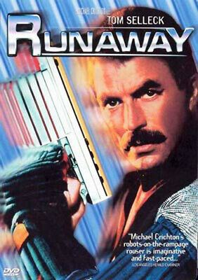 Runaway (1984 Tom Selleck) DVD NEW • 13.06£