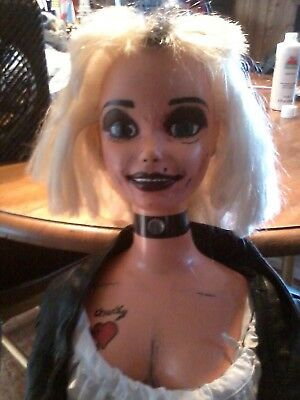 Tiffany Bride Of Chucky Doll Childs Play Lifesize Barbie Doll 3' Zombie Prop • 56.98£