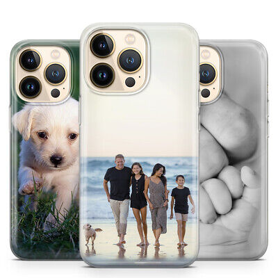 AU21.42 • Buy PERSONALIZED CUSTOM PRINTED PHOTO SOFT PHONE CASE FOR IPhone X Xs Xr Xs Max 8 7