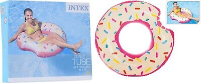 £6.95 • Buy Intex Inflatable Giant Swim Ring Swimming Pool Beach Holiday Novelty Donut Float
