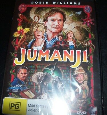AU14.39 • Buy Jumanji (Robin Williams) (Australian Region 4) DVD - New