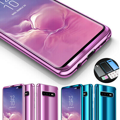 AU9.42 • Buy 360° Shockproof Full Mirror Slim Case Cover For Samsung Galaxy S9 S8 S10+ S10e