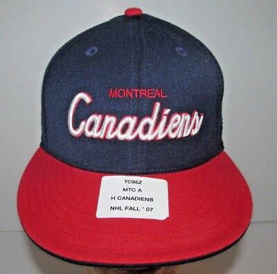 446ae2aa344 Montreal Canadiens NHL Reebok Center Lee Collection OSFA Stretch Fit Cap Hat  • 10.00