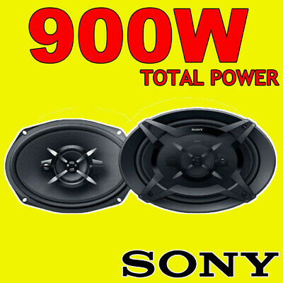 Sony XS-FB6930 6x9 3-Way Car Door Coaxial Parcel Shelf Speakers 900W Total Power • 56.99£