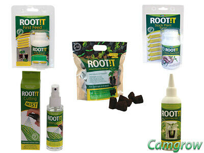 £8.95 • Buy RooT!T - First Feed, Rooting Gel, Cutting Mist, Plant Tonic & Bag Of 50 Cubes
