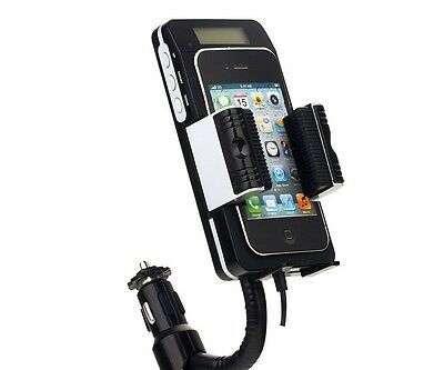 Happybird Car Kit Radio Transmitter Mount Cable For Iphone5.Galaxy S3.Blackberry • 20.74£