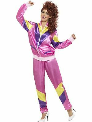 1980's Shell Suit Ladies Fancy Dress Party Womens Costume Height Of Fashion • 15.75£