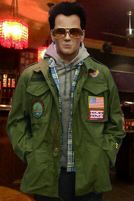 $249 • Buy Screen Accurate TRUE ROMANCE M65 Field Jacket With Blood Chit, Christian Slater