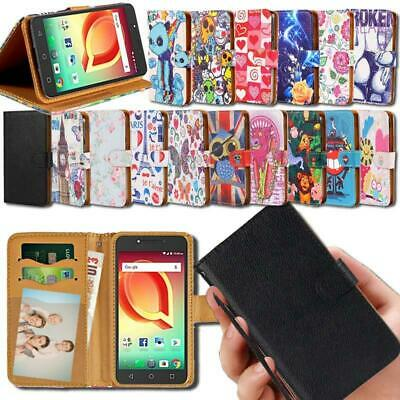 £1.99 • Buy For Various Alcatel SmartPhones - Flip Leather Smart Stand Wallet Cover Case
