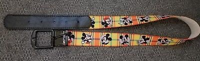 $8 • Buy Mickey Mouse Kid Boy Girl Stretch Belt Size 21inch - Max 27 Inch