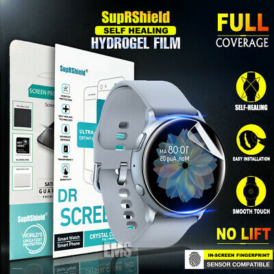 AU7.99 • Buy [3 Pack] For Samsung Galaxy Watch Active 2 Full Coverage Screen Protector Film