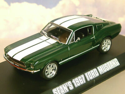 £22.95 • Buy Greenlight Diecast 1/43 Seans 1967 Ford Mustang Fast & Furious Tokyo Drift 86211