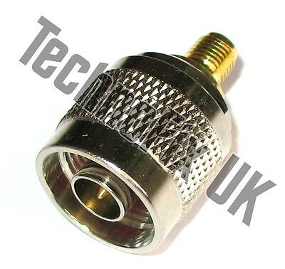 £2.95 • Buy SMA Female To N Type Male Adapter (SMA F To N Type M)