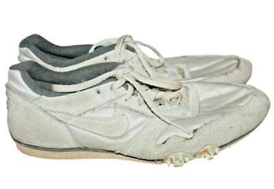 AU116.05 • Buy 70's 80's Vintage Rare Nike Track & Field Shoes 6.5 Suede White Olympics Zoom