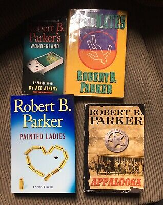 3 Robert B. Parker Books : Painted Ladies : Appaloosa : Wonderland : 2 HCDJ 1 PB • 10.13£