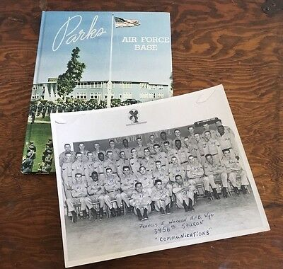 $19.98 • Buy Parks Air Force Base Yearbook 1956 California 3275th Military Training 3456th