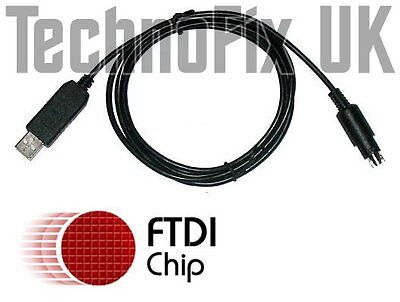 FTDI USB Cat & Programming Cable For Yaesu FT-100D FT-817 FT-857 FT-897 CT-62 Eq • 16.99£
