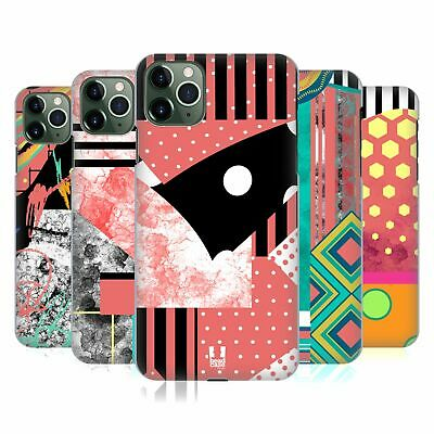 HEAD CASE DESIGNS PATTERN BLOCKING FASHION BACK CASE FOR APPLE IPHONE PHONES • 6.95£
