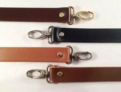 $15.79 • Buy 1 In. Leather Cross Body And/or Shoulder Purse Bag Replacement Strap - 8 Lengths