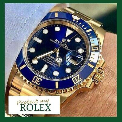 AU9.95 • Buy NEW ROLEX FACTORY PROTECTION FILM: Fits Submariner, GMT Master 2 Sides Of Watch