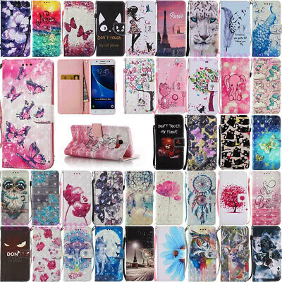 $ CDN5.95 • Buy For Samsung Galaxy S9/S10 Plus Note 8/9 Leather Flip Magnetic Wallet Case Cover