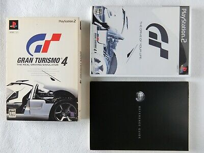 £25.78 • Buy Gran Turismo 4 The Real Driving Simulator PS2 Sony Playstation 2 BOX From Japan