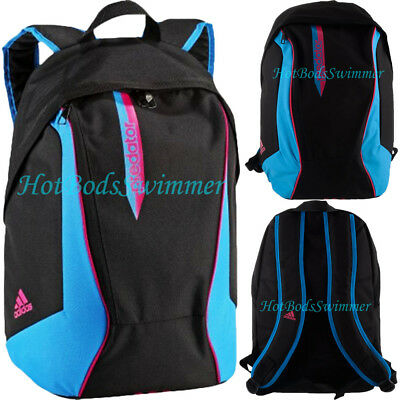 AU58.28 • Buy Adidas Predator Backpack D82950 Black/Blue/Pink