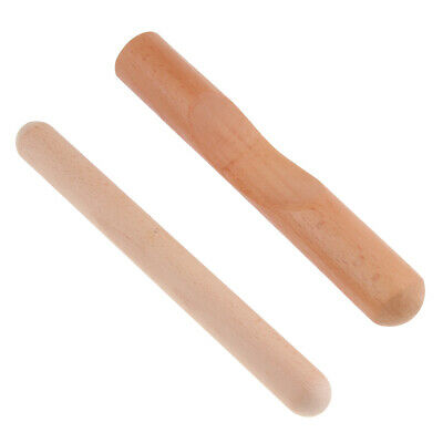 1 Set Rhythm Sticks Musical Instruments Accessory Wood Claves For Kids • 6.69£