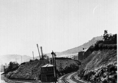 Photo  Pontypridd North Junction  (rhondda Cutting) In June 1921 • 1.90£